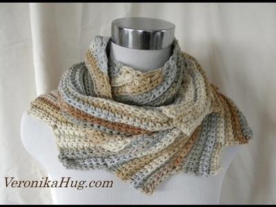 Häkeln - Drachenschal TURIN - Woolly Hugs 01 - Veronika Hug
