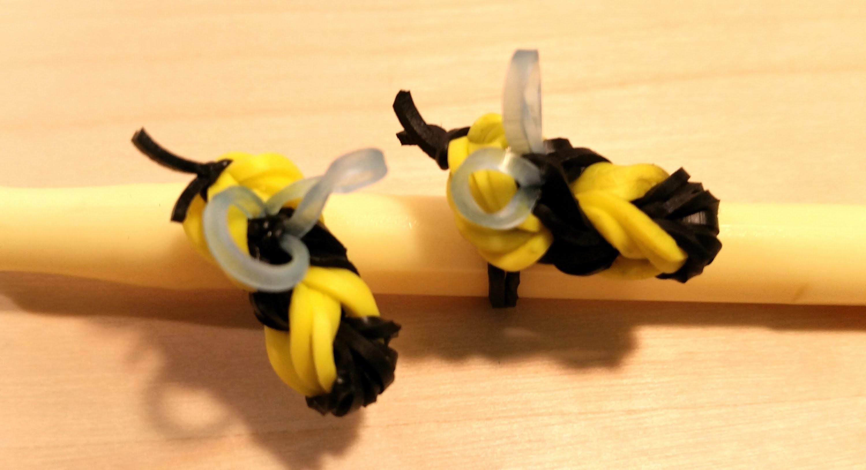 Loom Biene ohne Loom Anleitung