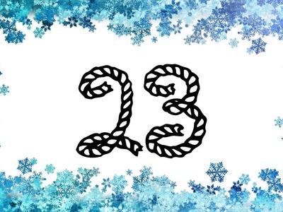 Mystery Crochet Along Tür 23 - © Woolpedia