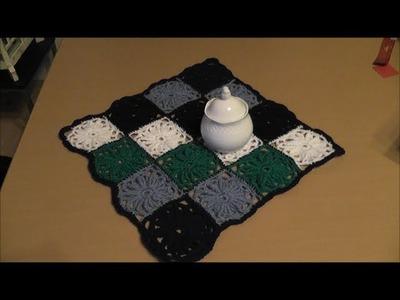Quadrate häkeln - Teil 2 von 2.
