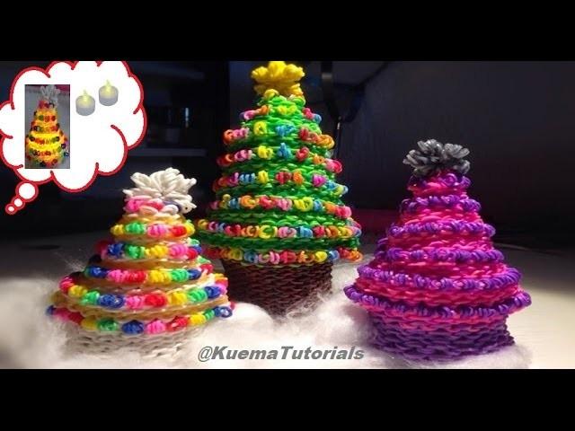 Rainbow Loom Weihnachtsbaum.Christmas Tree(small and big)
