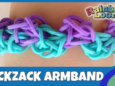 RainbowLoom Zickzack-Armband- deutsche Anleitung