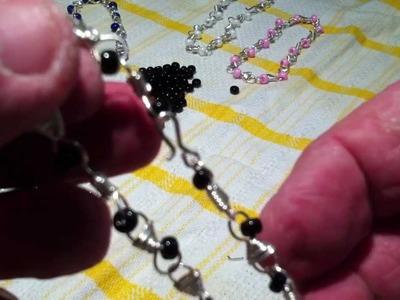 Armbänder selber machen aus Neusilberdraht - Schmuck herstellen
