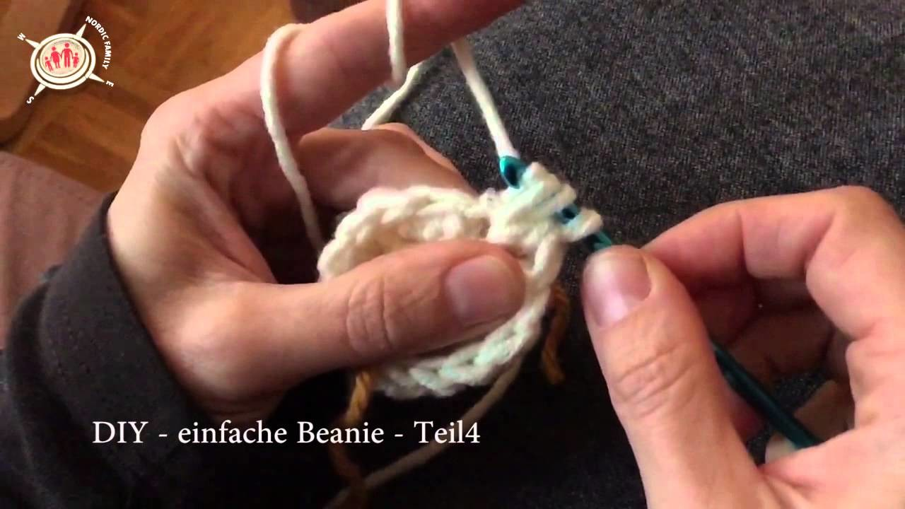DIY | Beanie selber häkeln | Teil 4 | Slow Motion
