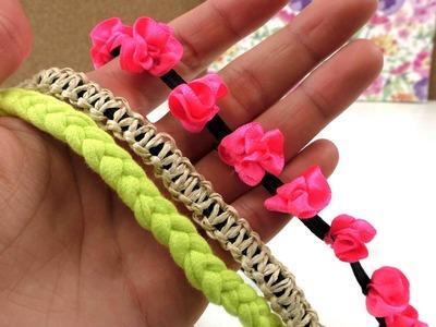 DIY Hairbands selber machen Übersichtsvideo - Meine schönsten 3 Haarbänder