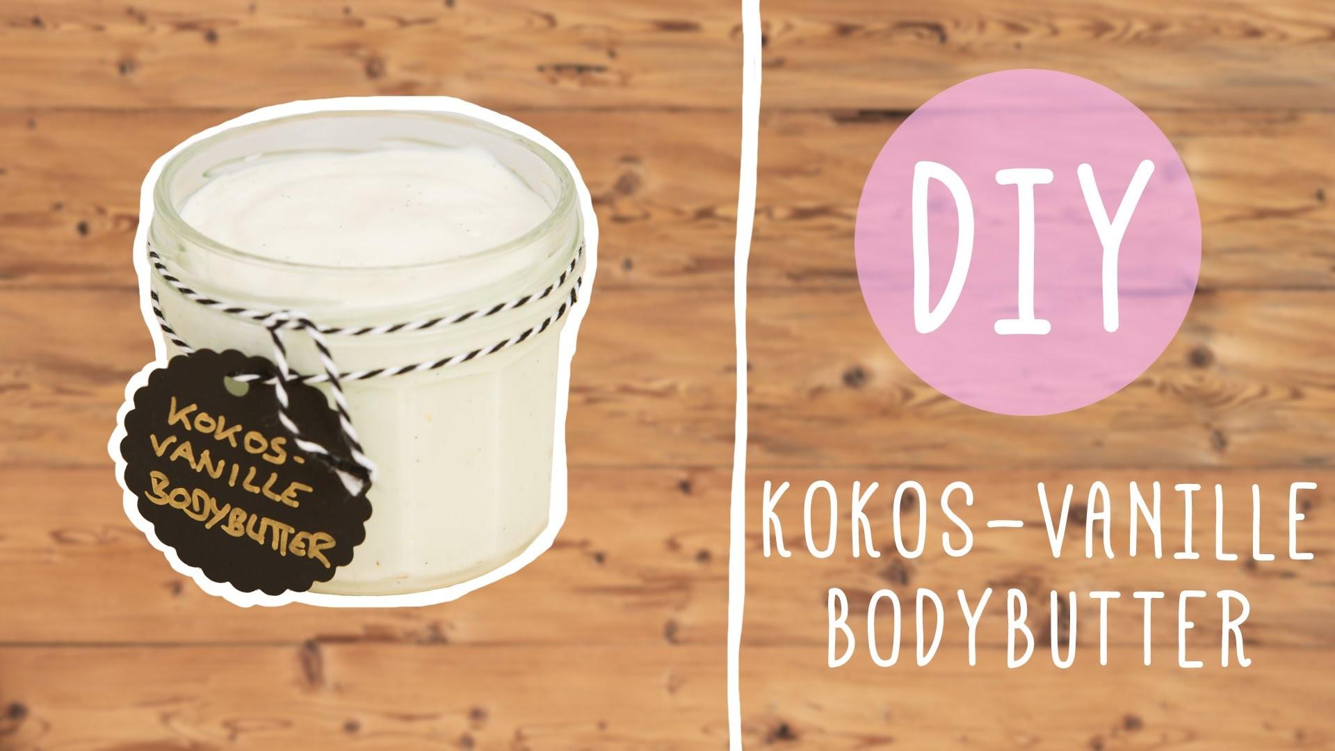 DIY mit Nina: Kokos-Vanille-Bodybutter
