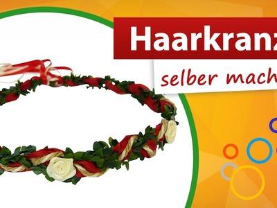 Haarkranz selber machen | Haarkranz Bastelanleitung - do it yourself | trendmarkt24