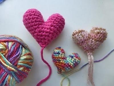 Häkeln mit eliZZZa * Amigurumi Herz für Muttertag
