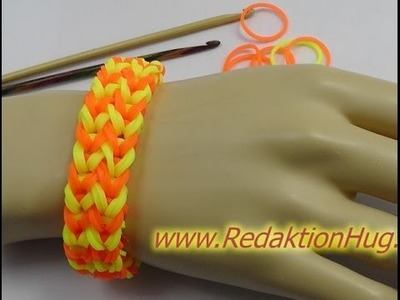 Loom Bands - ohne Rainbow Loom - Deutsch - J