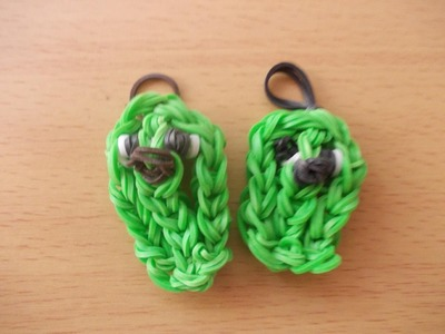 Rainbow Loom Bands Anleitung deutsch - Gurke - Rubber Bandz cucumber tutorial