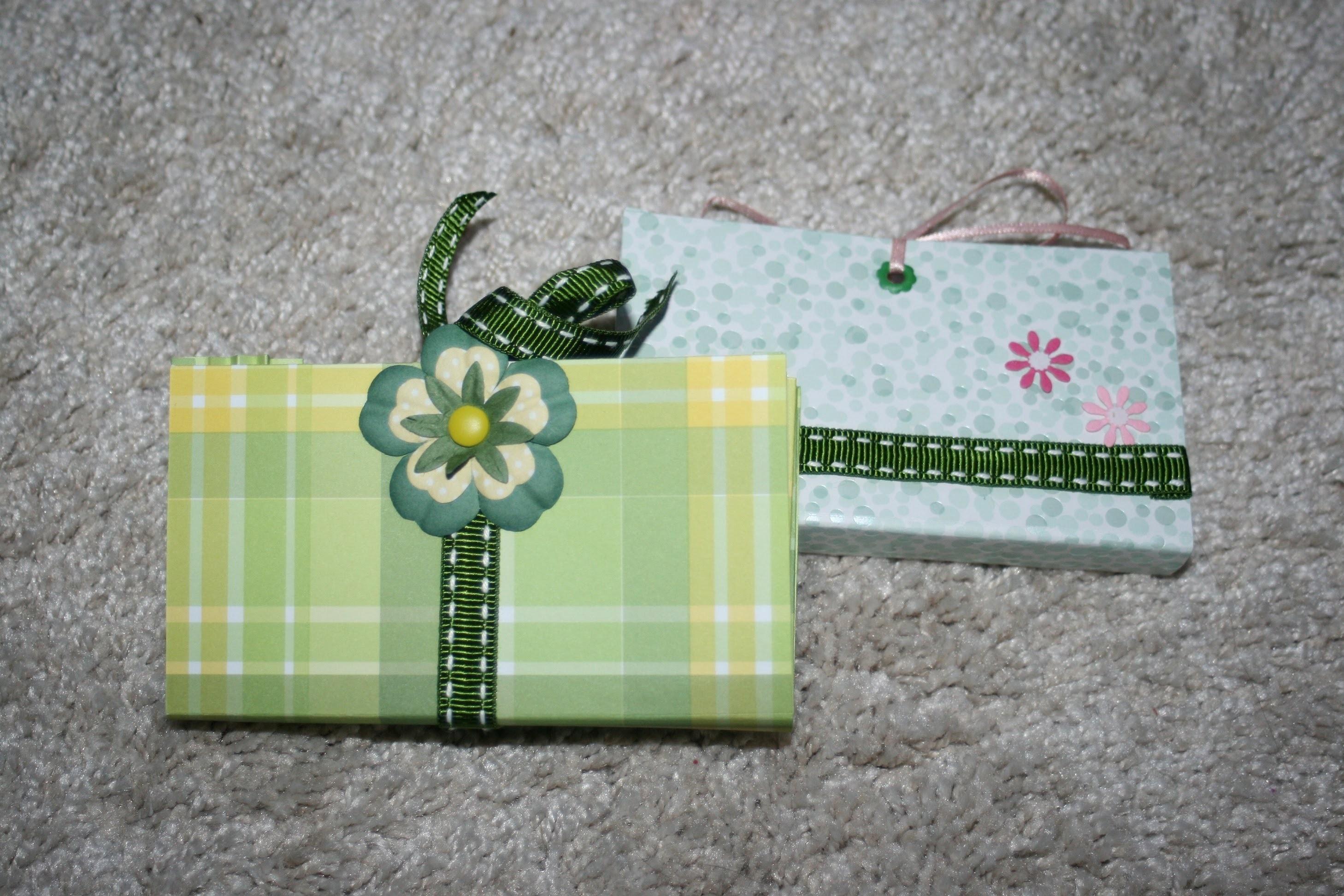 Schachtel, Geschenkverpackung für Kleinigkeiten