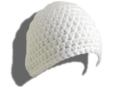 SIMPLE Mütze häkeln lernen - © Woolpedia