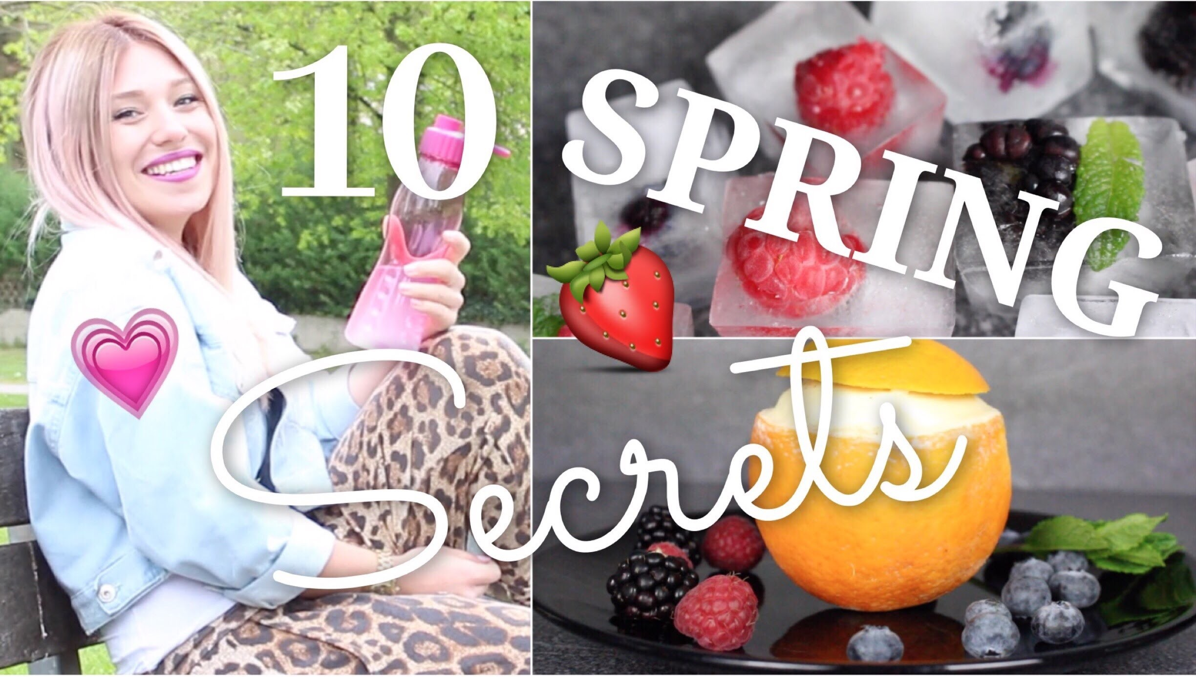 10 easy SPRING SECRETS. HACKS ♥ BibisBeautyPalace