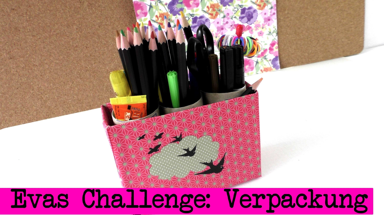 DIY Inspiration Challenge #12 Verpackung | Evas und Kathis Challenge | Do It Yourself Tutorial