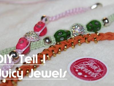 DIY mit Juicy Jewels - Schmuck selber gestalten - Teil 1 | LaBelleLouve