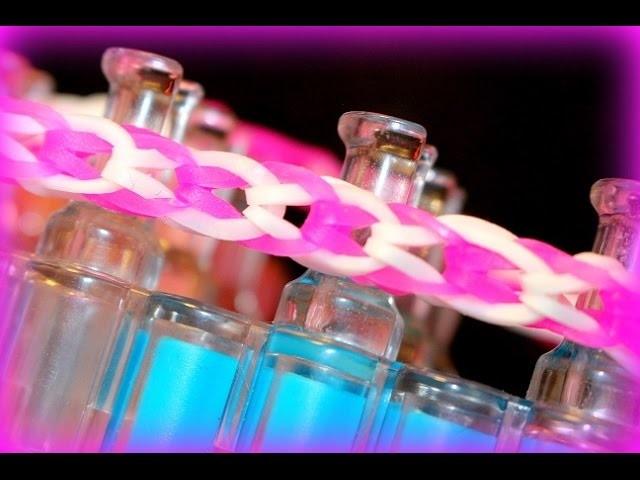 Loom Bands mit Rainbow Loom Armband Bracelet, Armbänder selber machen ( deutsche Anleitung)