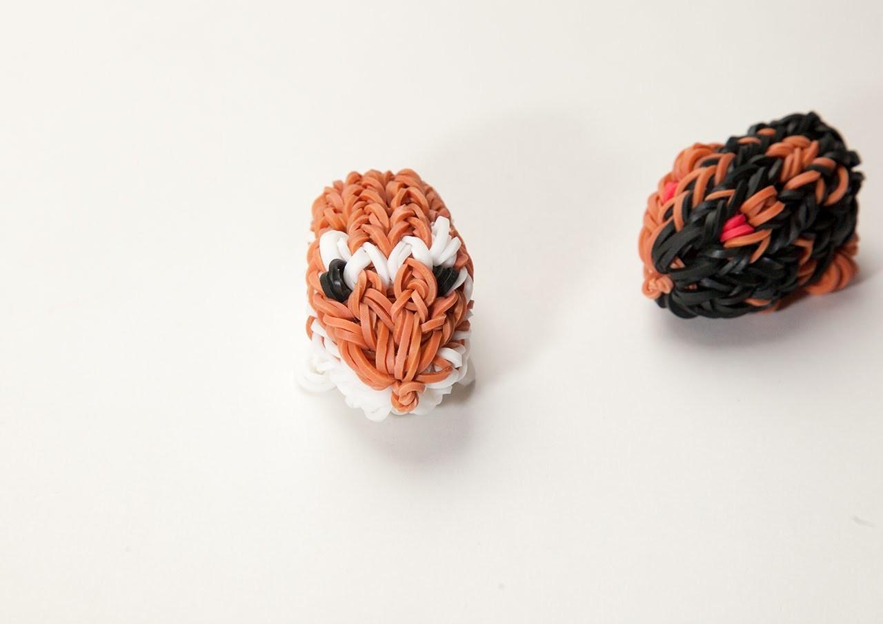 Rainbow Loom 3D Hamster Deutsch Anleitung