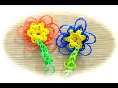 Rainbow Loom Blume (deutsche Anleitung)