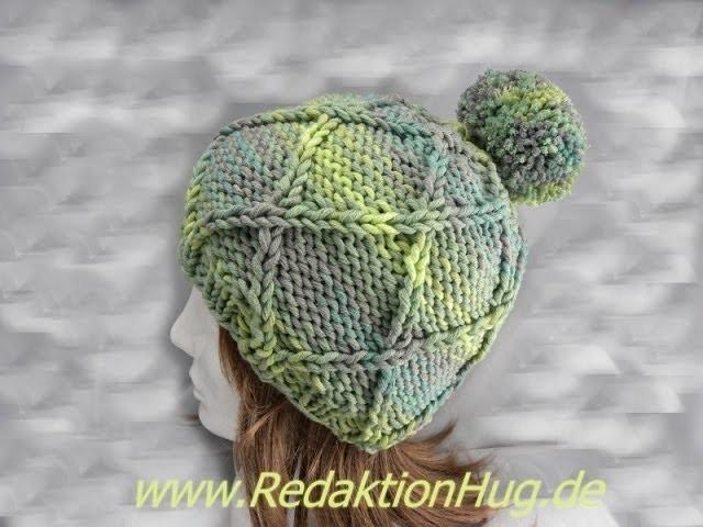 Stricken - Mütze - aus Montego von ONline-Garne - Anleitung