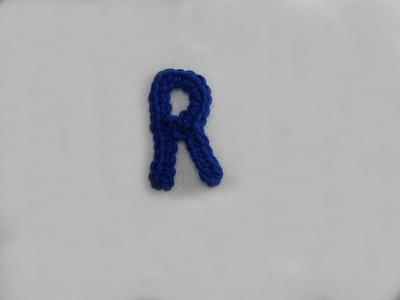 ABC Häkel-Buchstaben R