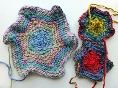Adventskalender * 4. Dezember 2012 * Stricken Hexagon