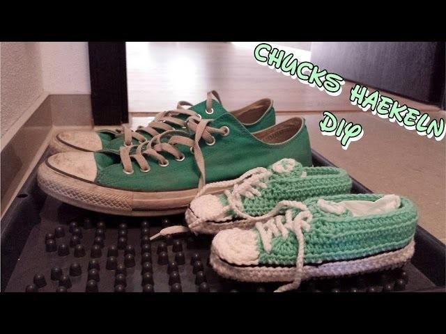 DIY| Kinder Turnschuhe| Chucks häkeln| Anleitung