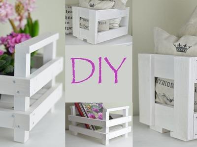 DIY-Kisten aus altem und neuem Holz.Country-, schwedischer Landhausstil.Shabby Chic