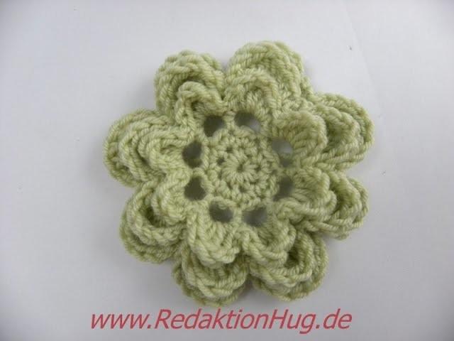 Häkeln - Blume - Häkelblume