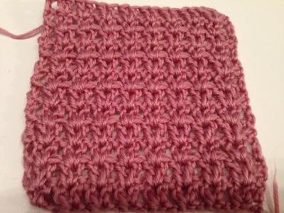 Ihr 33. Quadrat für ihre Patchwork Decke Häkeln das V-Muster lernen