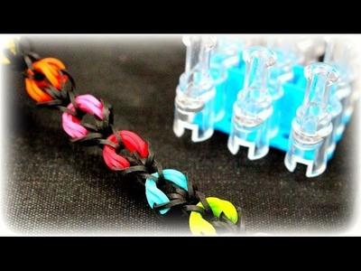 Loom Bands mit Rainbow Loom DIY Armband Loom Bänder Spielzeug deutsche Anleitung