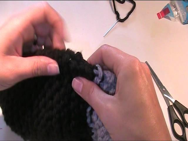 Mütze mit Ohrenklappen stricken 5