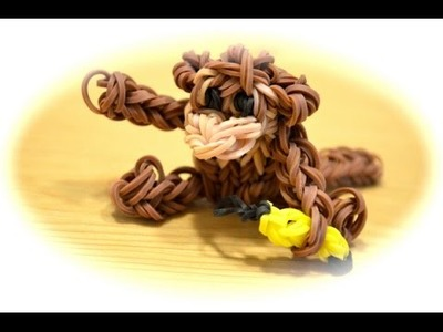 Rainbow Loom Affe (deutsche Anleitung) (für Fortgeschrittene!)