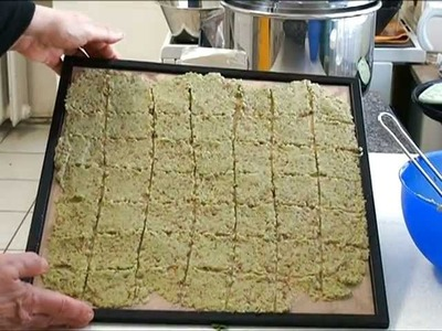 Rohkost: Wirsing-Chia-Cracker, vegane Vollwertkost
