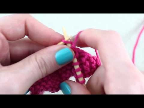 Simple Stylish Stricken - Tutorial: Muster Bibliothek 19: Korbgeflechtmuster