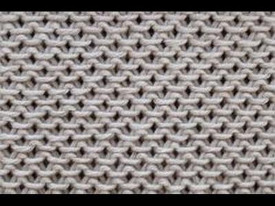Strickmuster * Ein sehr schoenes und einfaches Strickmuster