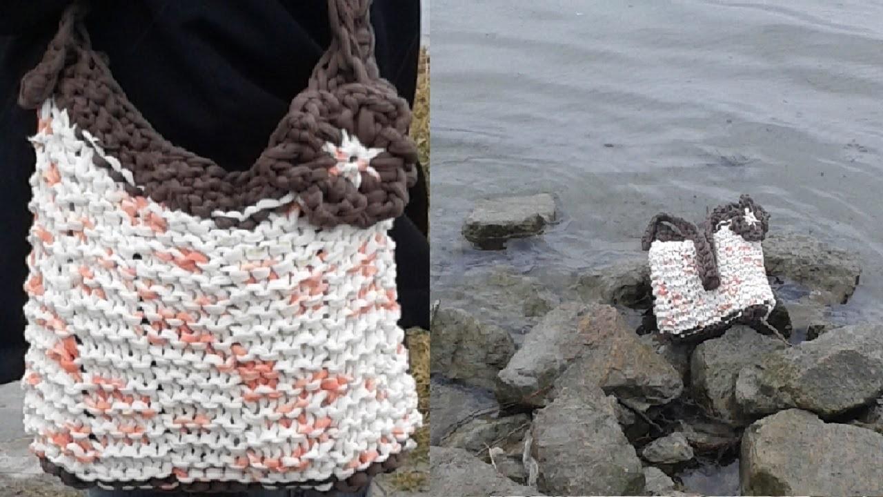 Taschen stricken - Anleitung - Teil 1