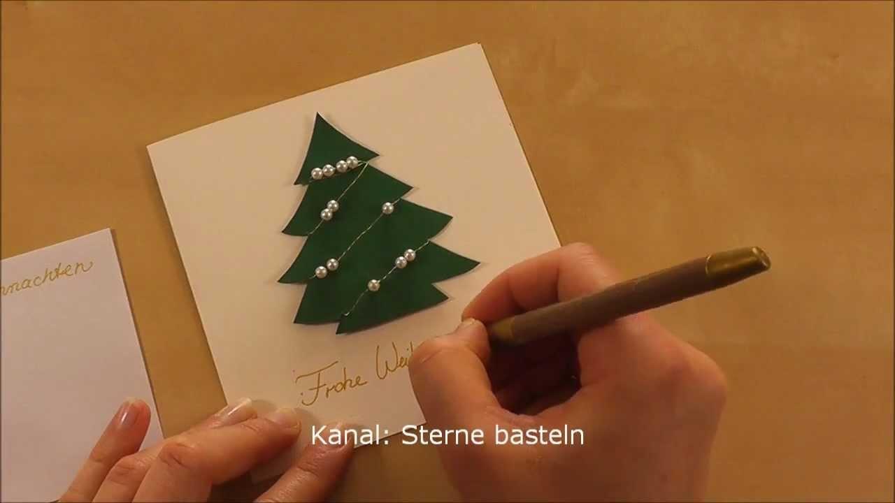 Weihnachtskarten basteln my crafts and diy projects - Weihnachtskarten basteln mit kindern ...