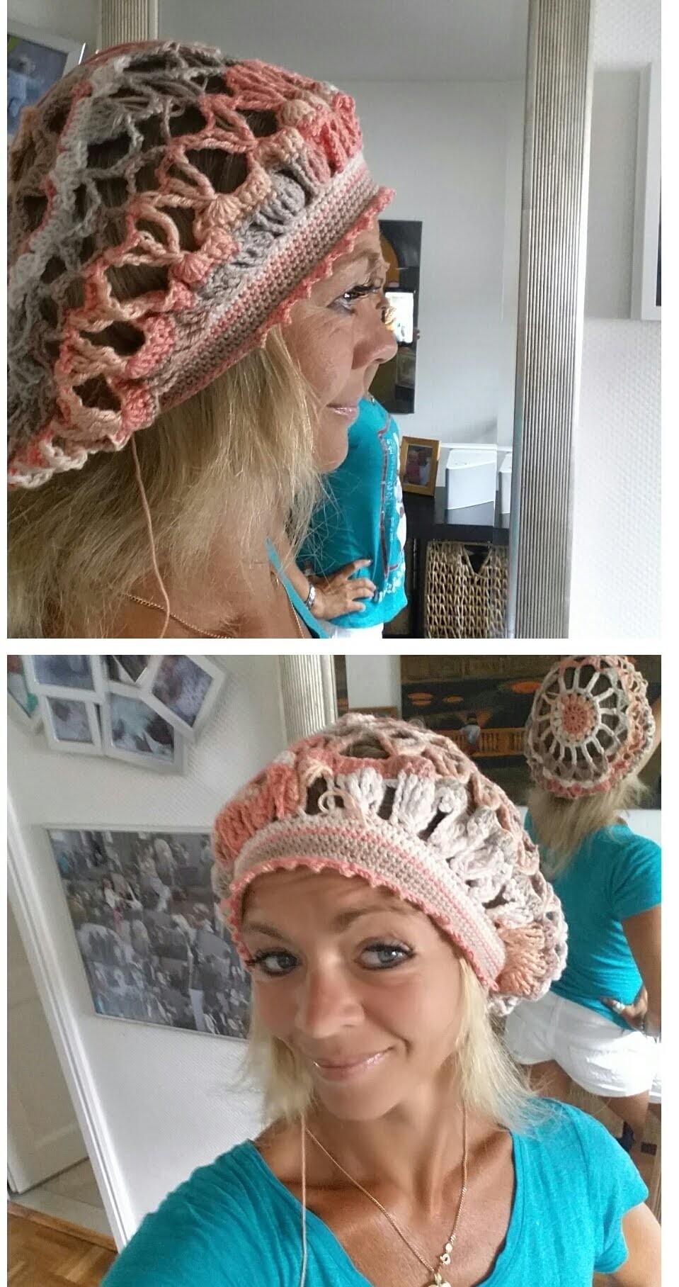 Ballon Susanne Balloon crochet hat# Häkeln mit Yve