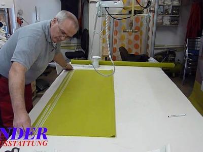 Bender Raumausstattung Faltrollo .wmv