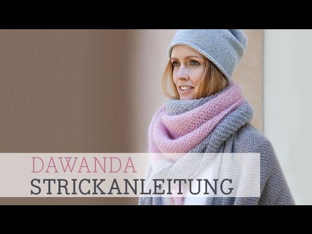 DaWanda Strickanleitung: Easy Dreieckstuch