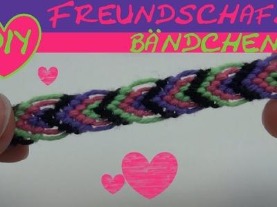 DIY Armbänder knüpfen mit Blattmuster aus Baumwolle. Freundschaftsarmbänder (Vol. 5) Anleitung