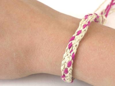 DIY Fußkette Armband Fußbändchen wasserfest für den Sommer
