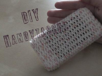 DIY Handytasche häkeln *langes Video für Anfänger*