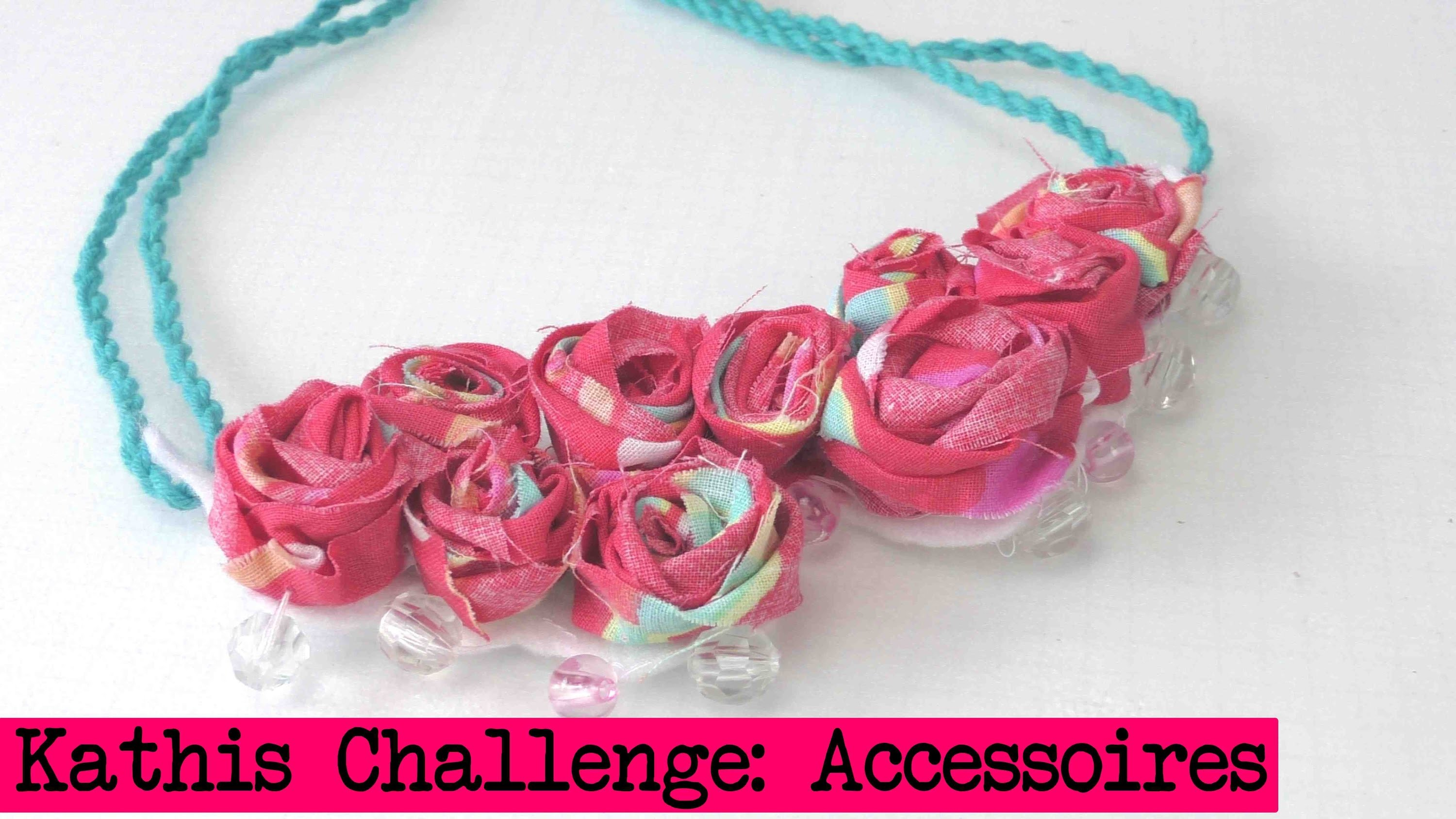 DIY Inspiration Challenge #15 Accessoires | Kathis Challenge | Tutorial - Do it yourself