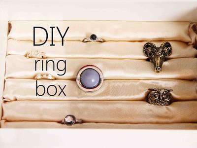 DIY | RINGAUFBEWAHRUNG