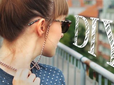 DIY stylisches Brillenband für den Sommer