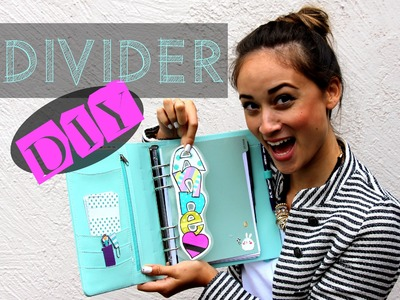 Filofax Deutsch: Divider. Today Marker DIY - personal Divider - Washi Tape - Kikki.K Setup