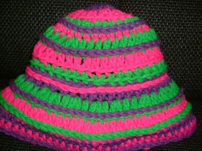Häkel Anleitung für eine Beanie Mütze