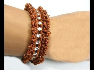 Häkeln - Armband - Ankerkette behäkeln