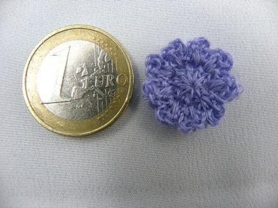 Häkeln - Blume XXS aus Madeira Stickgarn
